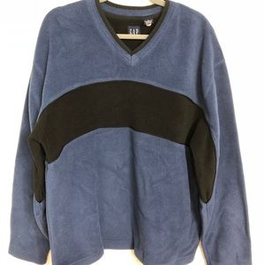GAP, XL, Men's Two tone Blue Long Sleeve Pullover